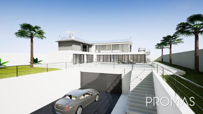 New build project in Benahavis