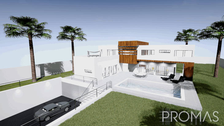 New villa project in Benahavis