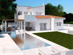 House Pool Kitchen