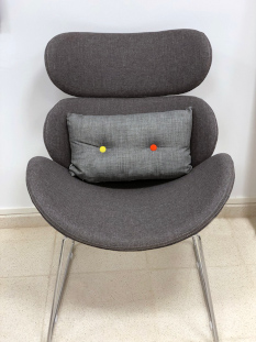 Showroom Furniture Rounded Chair