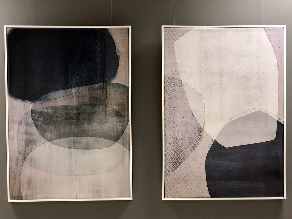 Showroom Twin Paintings