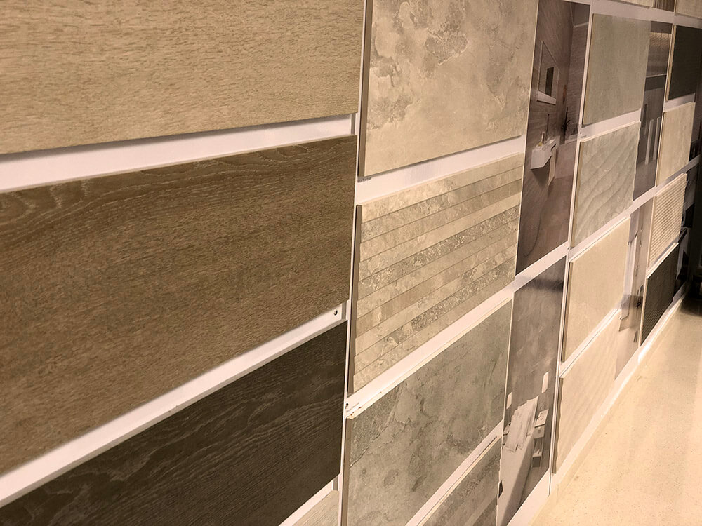 Showroom Tile Wall