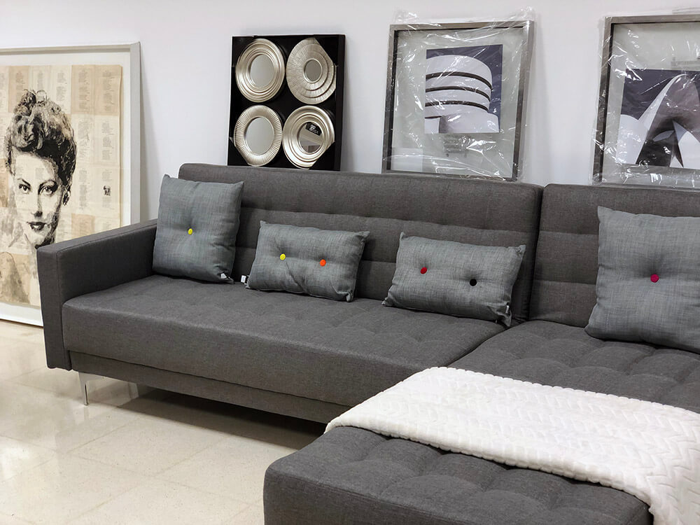 Showroom Furniture Corner Sofa