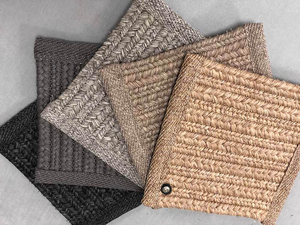 Showroom Carpet Swatches