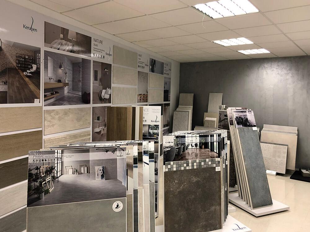 Showroom Tiles