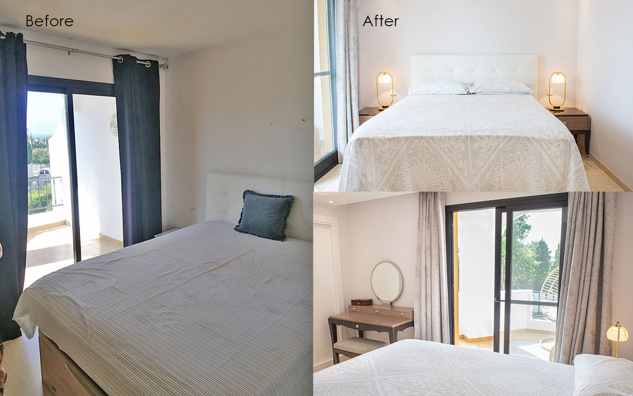 Before and After - Bedroom