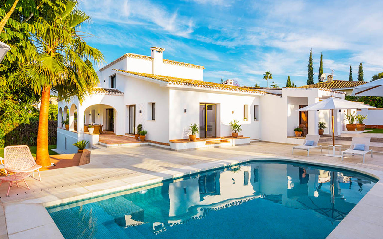 Refurbished Andalusian villa in Guadalmina