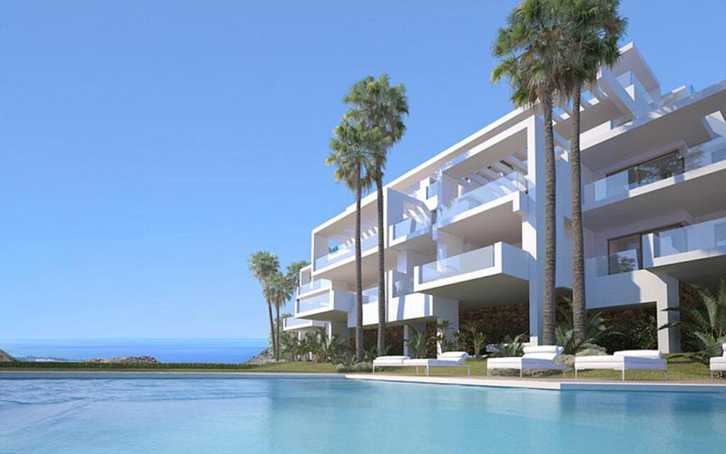 Pool of apartment currently for sale in Marbella