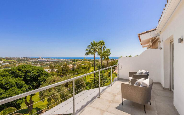 Costa del Sol balcony in La Quinta