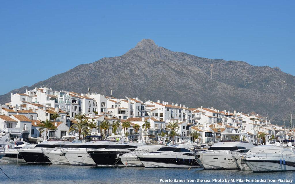 The famous port of Puerto Banus