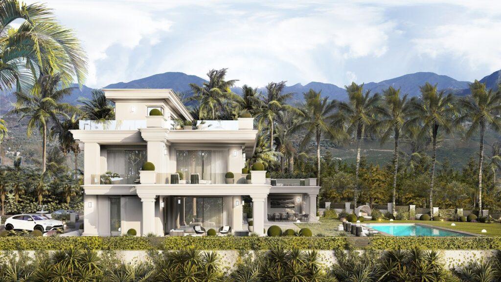 Villa for sale in the Marbella Golden Mile