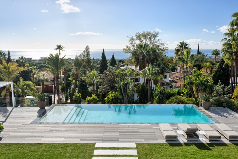 View from villa for sale in Las Chapas