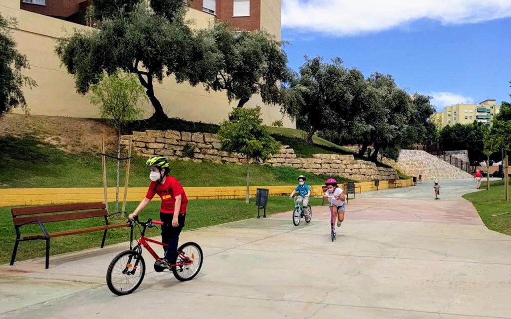 A Málaga scooter park