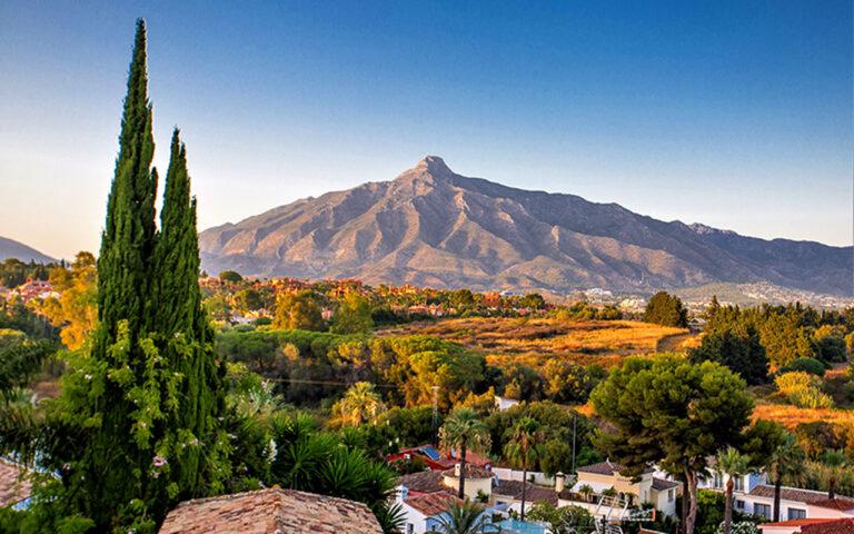 La Concha mountain Marbella