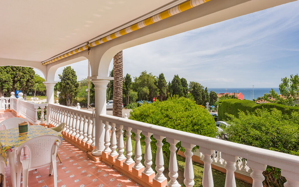 Balcony before renovation by our luxury building company
